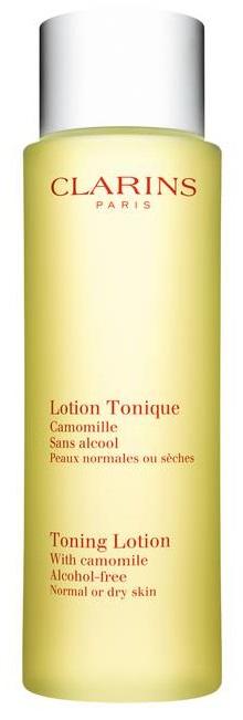 Clarins Toning Lotion D/N kasvovesi kuivalle iholle 200ml-0