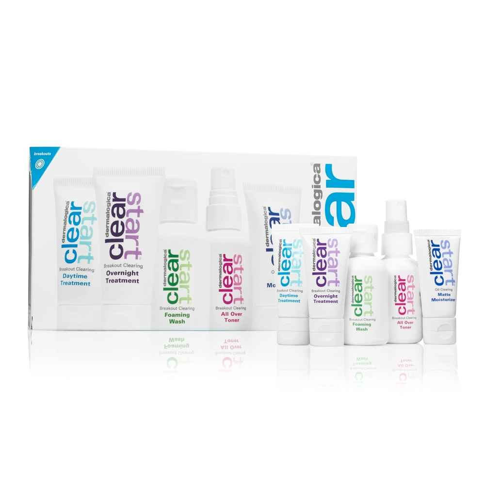 Dermalogica Clear Start Kit,nuoren ihon hoitosetti -0