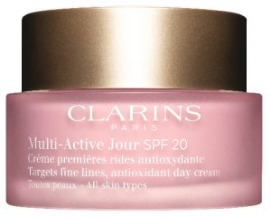 clarins multi-active päivävoide spf20