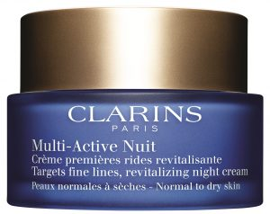 Clarins Multi-active night cream normal to dry hoitovoide-0