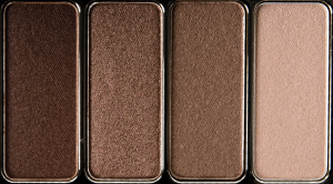 Clarins 4-colour eyeshadow luomiväripaletti 03 brown-0
