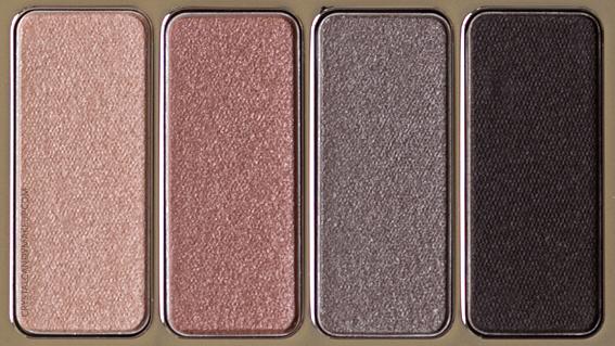 Clarins 4-colour eyeshadow luomiväripaletti 01 nude-0