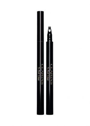 Clarins 3-dot-liner nestemäinen pisterajaus musta 0,7ml-0